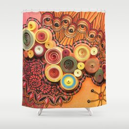 Quillingtangle Shower Curtain