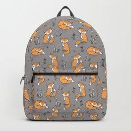 02fb823c560a Dreamy Fox on Grey Backpack
