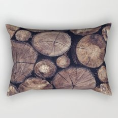 The Wood Holds Many Spirits // You Can Ask Them Now Edit Rectangular Pillow