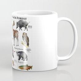 Animals of the Black Forest Coffee Mug