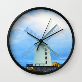 Blennerville Windmill, County Kerry, Ireland. Wall Clock