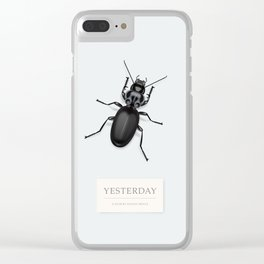 Yesterday - Alternative Movie Poster Clear iPhone Case