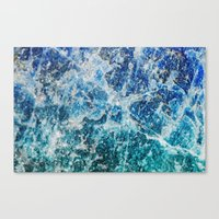 mineral Canvas Prints featuring MINERAL MAGIC by Catspaws
