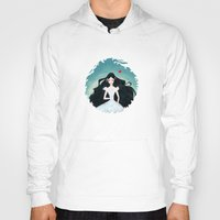 snow white Hoodies featuring Snow White by Serena Rocca