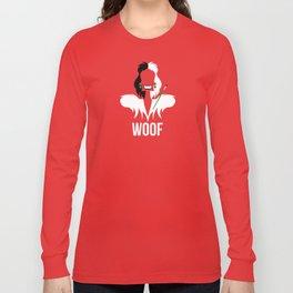Distorted Dizney: Cruela Woof Long Sleeve T-shirt