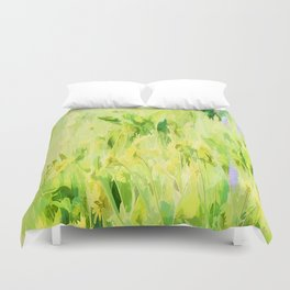 Flower Delivery - Flowers That Last A Life Time Duvet Cover