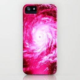 Pink Hurricane iPhone Case
