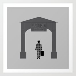 Dickinson Metal Works (DEAD MAN) Art Print