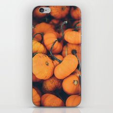 Obligatory Pumpkin Selfie  iPhone & iPod Skin
