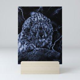 ON THE PROWL Mini Art Print