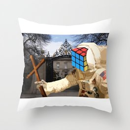 death comes for old money Throw Pillow