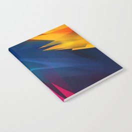 Geometric Colors Notebook