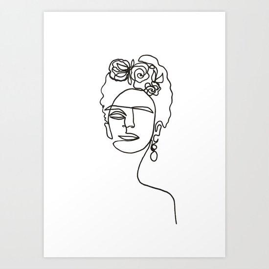 Frida Kahlo by haririillustration