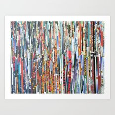 STRIPES 32 Art Print