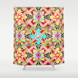 Boho Gypsy Caravan Shower Curtain
