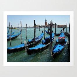 Venetian Breeze Art Print