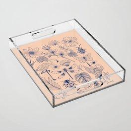 SUMMER Acrylic Tray