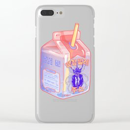 Beetle Juice Clear iPhone Case