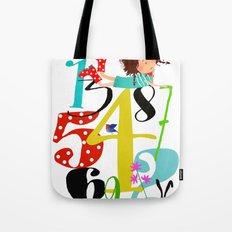 Emmas Numbers Tote Bag
