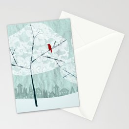 Lace Trees Stationery Cards