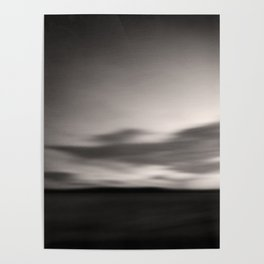 Dramatic Sky - abstract landscape Poster