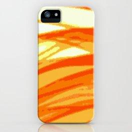Orange Blur iPhone Case