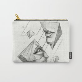 Surreal Geometry Shapes Carry-All Pouch