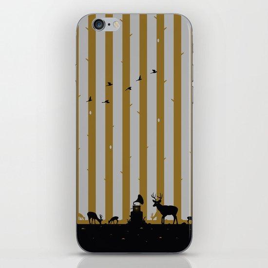Gold Deer Song iPhone & iPod Skin