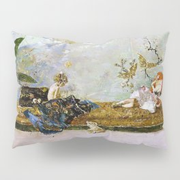 The Painters Children, Maria Luisa And Mariano, In The Japanese Room Pillow Sham