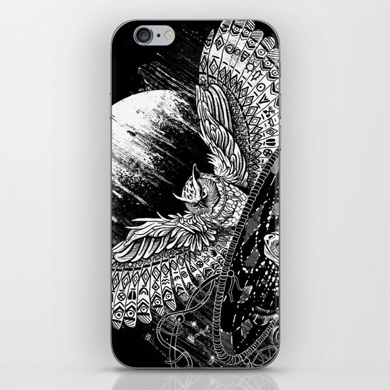 Spirit Owl iPhone & iPod Skin