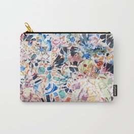 Mosaic of Barcelona VI Carry-All Pouch
