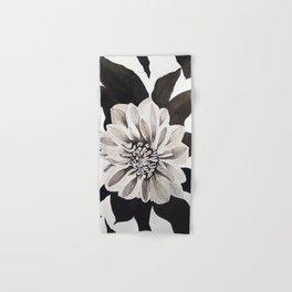 Dahlia in Ink Hand & Bath Towel