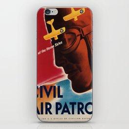 Vintage poster - Civil Air Patrol iPhone Skin