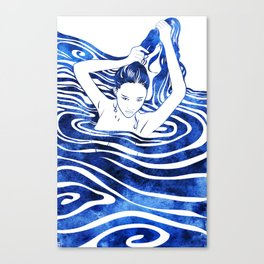 Water Nymph IV Canvas Print