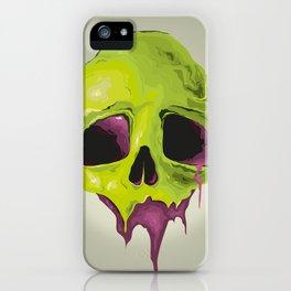 Liquid Skull iPhone Case