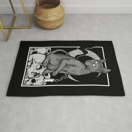 Occult Cat Rug