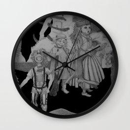 Childhood Of A Surrealist Wall Clock
