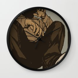 Crouch Wall Clock