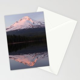 Sunset at Trillium Lake Stationery Cards