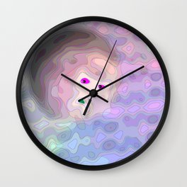 The universe is watching you ... Wall Clock