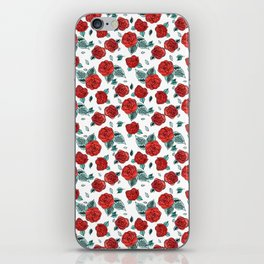 Run for the Roses iPhone Skin