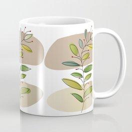 Foliage and flowers Coffee Mug