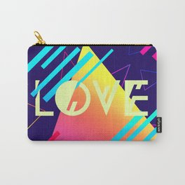 LOVE (80's Style) Carry-All Pouch