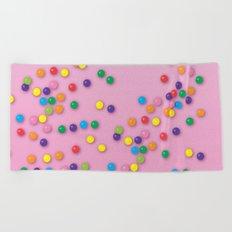 Donut Sprinkles Beach Towel