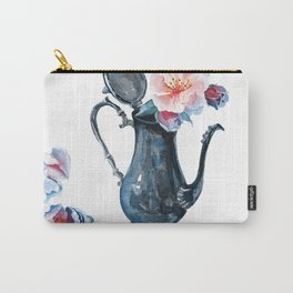 pitcher with flowers Carry-All Pouch
