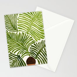 Summer Fern / Simple Modern Watercolor Stationery Cards