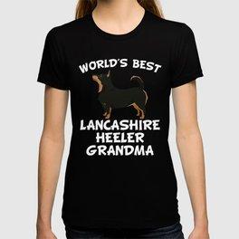 World's Best Lancashire Heeler Grandma T-shirt