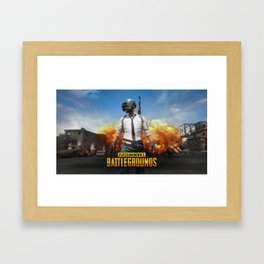PUBG 8 Framed Art Print