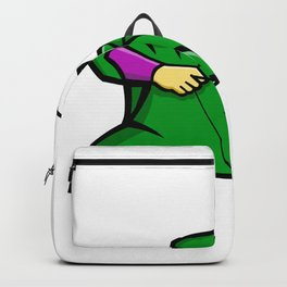 Medieval Archer Mascot Backpack