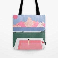 Poolside Views Tote Bag